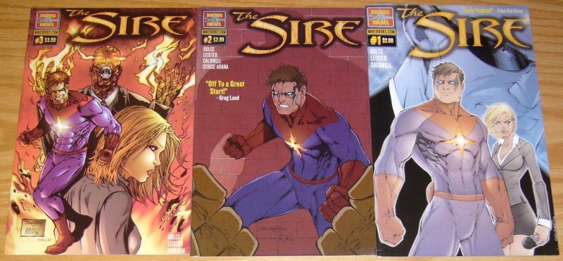 the Sire #1-3 VF/NM complete series - after shock comics - dolce - set lot set 2