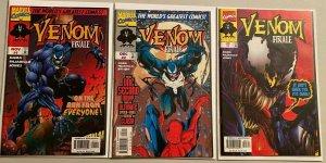 Venom finale set:#1-3 8.0 VF (1997)