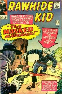Rawhide Kid (1955 series) #44, VG- (Stock photo)