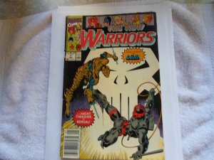 1991 MARVEL COMIC THE NEW WARRIORS # 7