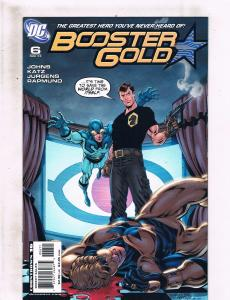 Lot of 5 Booster Gold DC Comic Books #0 6 7 8 9 Maxwell Lord Blue Beetle LH10