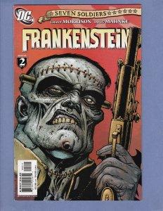 Seven Soldiers Frankenstein #2 FN Grant Morrison DC 2006