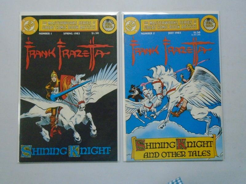 Masterworks Series of Great Comic Book Artists Frank Frazetta #1+2 6.0/FN (1983)