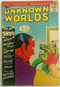 UNKNOWN WORLDS#27 FR 1963 ACG SILVER AGE COMICS