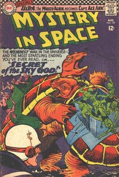 Mystery in Space (1951 series) #109, VG- (Stock photo)