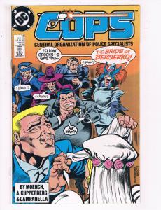 Cops #12 VF DC Comics Comic Book May 1989 DE22
