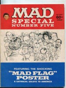 MAD Special #5 Magazine-1971-Mort Drucker-Don Martin-Al Jaffee-VG