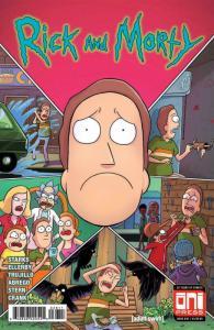 RICK and MORTY #36, 1st, VF/NM, Grandpa, Oni Press, from Cartoon 2015 2018