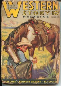 Western Story 11/26/1938-low grade reading copy-P/FR