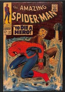 Amazing Spider-Man #52 VG/FN 5.0 3rd Kingpin!