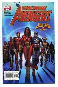New Avengers #7--First appearance of the ILLUMINATI comic book