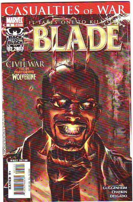 Blade, Casualties Of War #5 (Mar-07) NM+ Super-High-Grade Blade