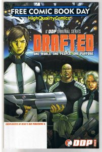 DRAFTED, Devil's Due,  Preview, Promo, 2008, FCBD, NM