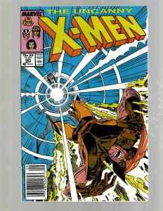 Uncanny X-Men # 221 NM Marvel Comic Book Beast Angel Cyclops Magneto SM19