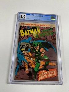 Brave And The Bold 85 Cgc 8.0 Batman Green Arrow Neal Adams Dc Comics