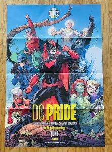 DC PRIDE LGBTQIA POSTER 24X36 JIM LEE COMICS POISON IVY BATWOMAN GREEN LANTERN