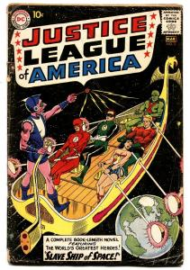 JUSTICE LEAGUE OF AMERICA #3 1ST KANJAR RO - DC  comic book 1961 Silver-Age