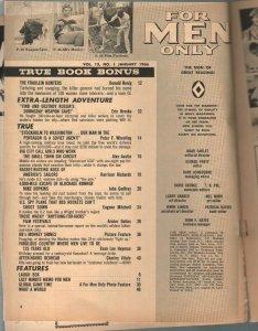 For Men Only 1/1966 Atlas-Mort Kunstler war cover-Bruce Minney-VG-