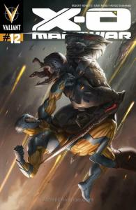 X-O Manowar (3rd Series) #12 FN; Valiant | save on shipping - details inside