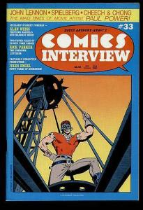 COMICS INTERVIEW  33 AL WEISS INTERVIEW;JULES
