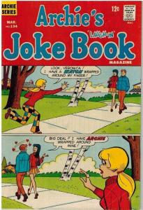 ARCHIES JOKE BOOK (1954-1982)134 VG  March 1969