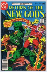 Return of New Gods #13 ORIGINAL Vintage 1977 DC Comics