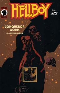 Hellboy: Conqueror Worm #3 FN; Dark Horse | save on shipping - details inside