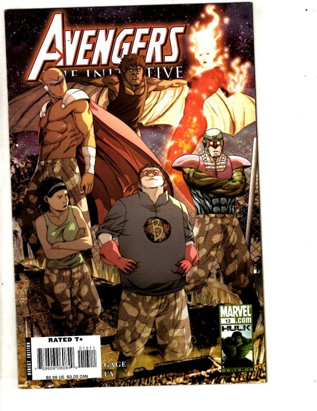 Lot Of 7 Avengers Marvel Comic Books Mighty 10 Initiative 13 1 4 5 3 New 46 J306