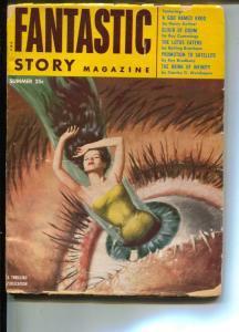 Fantastic Story-Pulp-Summer/1954-Ray Bradbury-Henry Kuttner