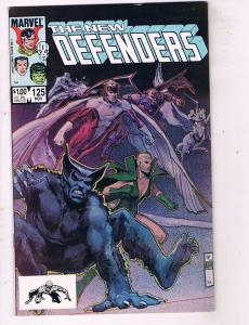 Lot Of 5 Defenders Marvel Comic Books # 125 126 127 128 129 Dr. Strange AD31