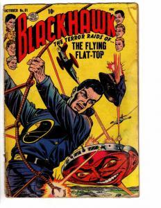 BLACKHAWK 81 FR October 1954