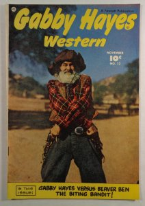Gabby Hayes Western #12 Fawcett Comics 1949 Golden Age Free Shipping