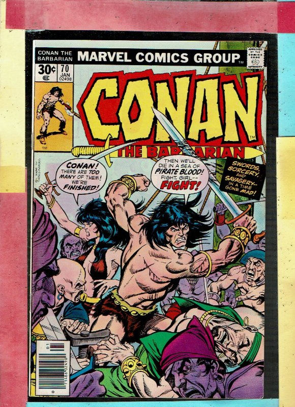 CONAN THE BARBARIAN 70