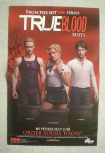 TRUE BLOOD BUSTS Promo Poster, 11x17, 2010, Unused, more Promos in store