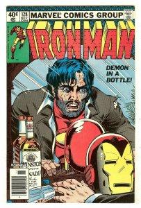 Iron Man 128   Classic Tony Stark alcoholism cover