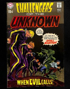 Challengers of the Unknown #71