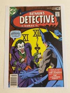 Detective Comics #475 Batman Joker DC Comics poster by Marshall Rogers