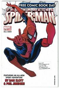 Amazing Spider-Man FCBD 2007 free comic book day - jackpot mr negative mister