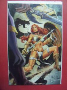 RED SONJA VS TULSA DOOM #4B VIRGIN INCENTIVE  (VF/NM 9.0 OR BETTER) IMAGE