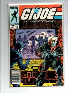 GI Joe #18 newsstand - Destro Returns - 1983 - Marvel - (-Very Fine)