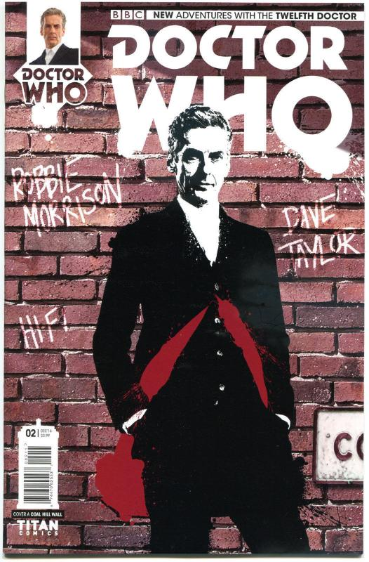DOCTOR WHO #2 A, NM, 12th, Tardis, 2014, Titan, 1st, more DW in store, Sci-fi