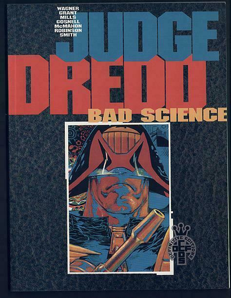 JUDGE DREDD BAD SCIENCE/Wagner,Grant,McMahon+