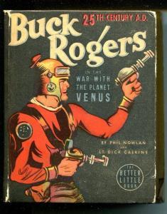 Buck Rogers 25th Century A.D. Big Little Book-#1437-1938-War With Venus-G/VG