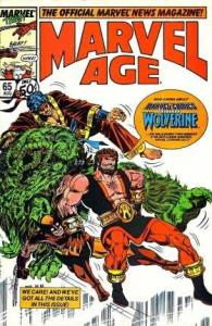 Marvel Age #65, NM- (Stock photo)