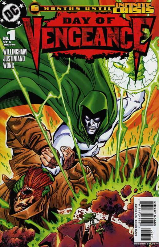 Day of Vengeance #1 VF/NM; DC | save on shipping - details inside