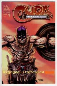 CUDA #1, VF/NM, Tim Vigil, Avatar, 1998, Warrior, Blood, Magic,more TV in store