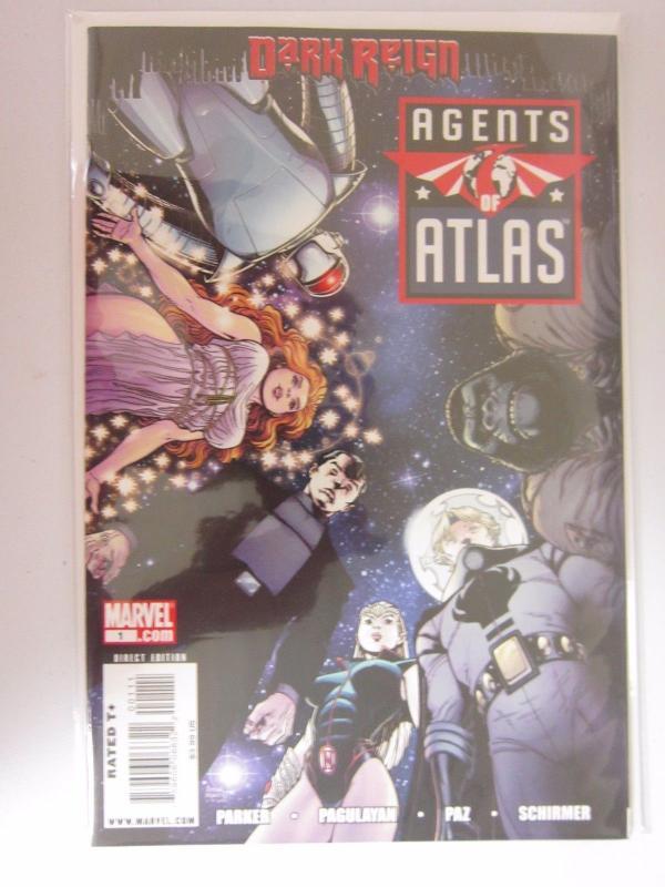 Agents of Atlas Dark Reign HC (2009 Marvel) #1 - VF/NM 9.0 - 2009