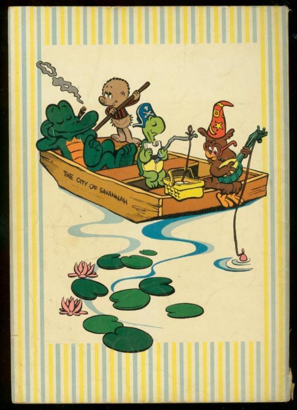 POGO PARADE DELL GIANT 1953-WALT KELLY ART-ANIMAL COMIC VG