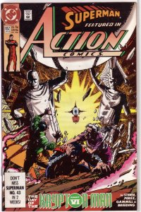 Action Comics   vol. 1   #652 FN (Day of the Krypton Man 6)