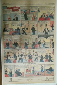Hairbreadth Harry Sunday Page by F.O. Alexander from 6/17/1934 Full Page Size !